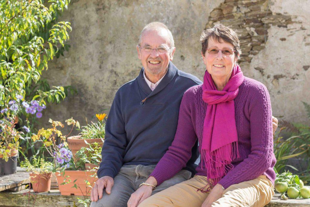 Susie et Max, propriétaires du gîte